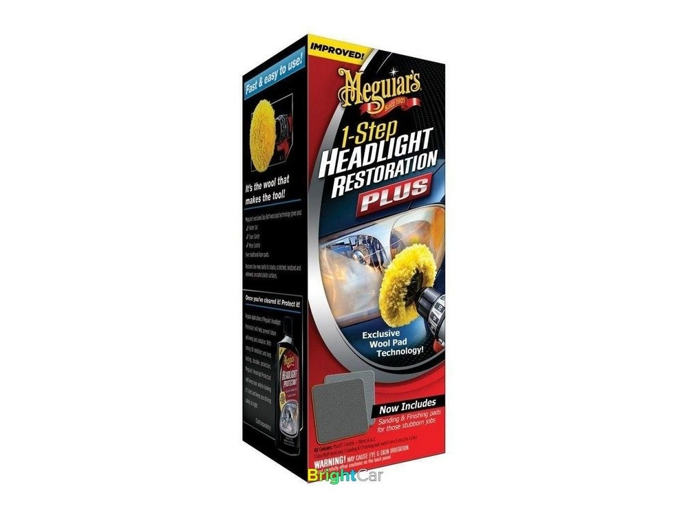 Набор для восстановления фар - One-Step Headlight Restoration Plus Kit -